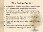 the fall in context