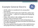 example general electric