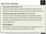 key price indexes