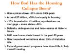 how bad has the housing collapse been