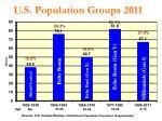 u s population groups 2011