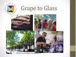 grape to glass