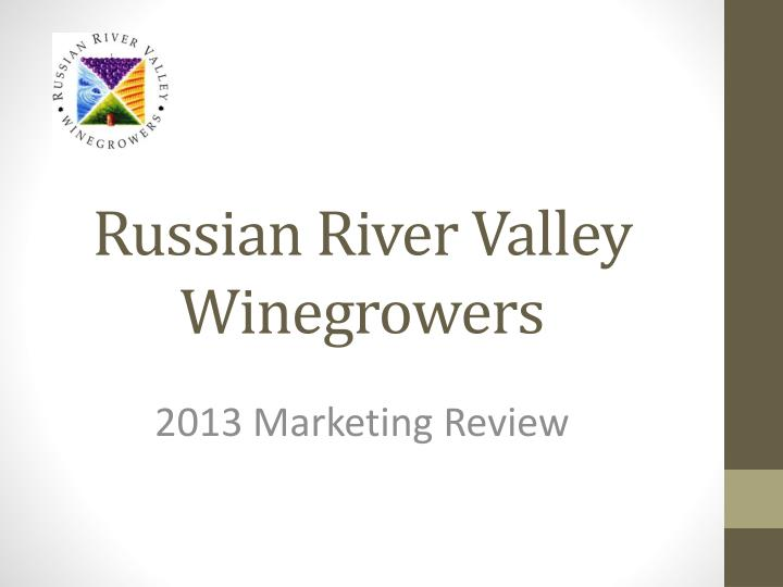 russian river valley winegrowers n.