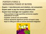 porter s force 3 bargaining power of buyers
