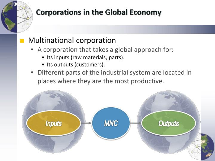 with globalization many multinational corporations mnc