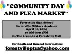 community day and flea market