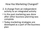 how has marketing changed1