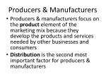 producers manufacturers