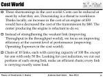 cost world
