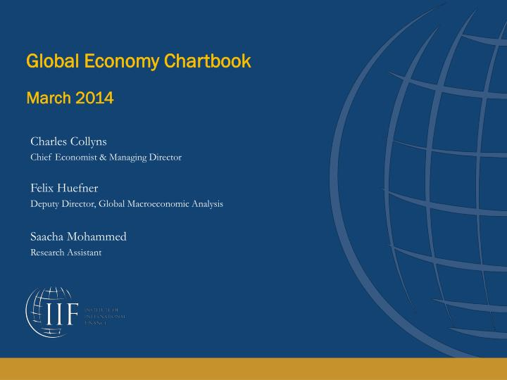 global economy chartbook march 2014 n.