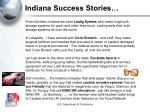 indiana success stories