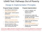 usaid tool pathways out of poverty