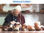 medieval cobbler