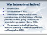 why international indices