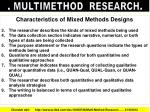 multimethod research3