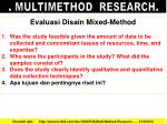 multimethod research5
