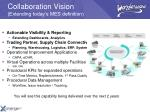 collaboration vision extending today s mes definition