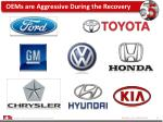 oems are aggressive during the recovery