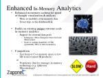 enhanced in memory analytics