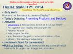 friday march 21 2014