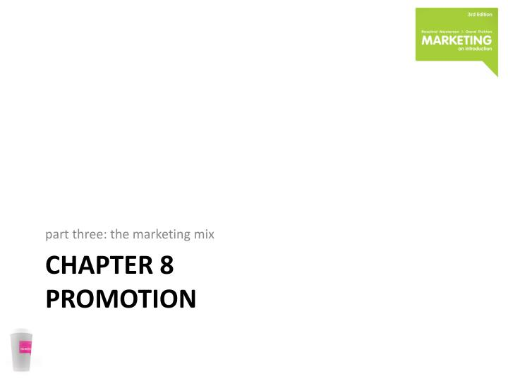 chapter 8 promotion n.