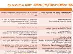 office pro plus in office 3653
