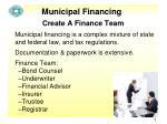municipal financing1