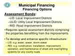 municipal financing11