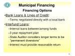 municipal financing13