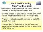 municipal financing4