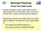 municipal financing5