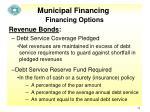 municipal financing9