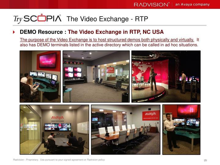 The Video Exchange - RTP