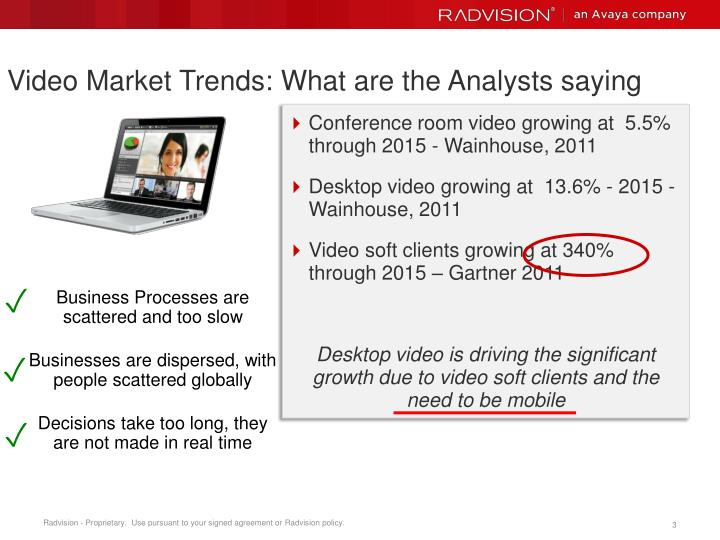 Video market trends what are the analysts saying