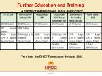 further education and training4