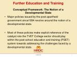 further education and training5