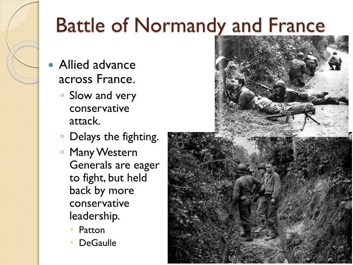 Battle of Normandy and France