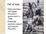fall of italy