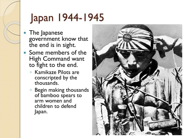 Japan 1944-1945