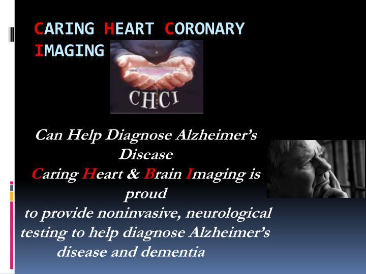 Can Help Diagnose Alzheimer's Disease