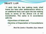 draft law