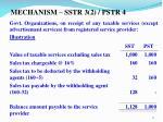 mechanism sstr 3 2 pstr 4