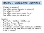 review 5 fundamental questions