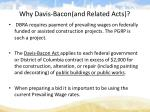 why davis bacon and related acts