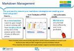 markdown management