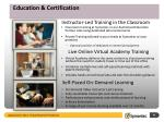 education certification