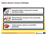 today s disaster recovery challenges