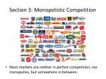 section 3 monopolistic competition