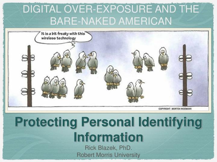 protecting personal identifying information n.
