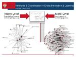 networks coordination in crisis innovation learning hossain kuti 2010